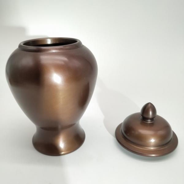 纯铜宝瓶款香炉