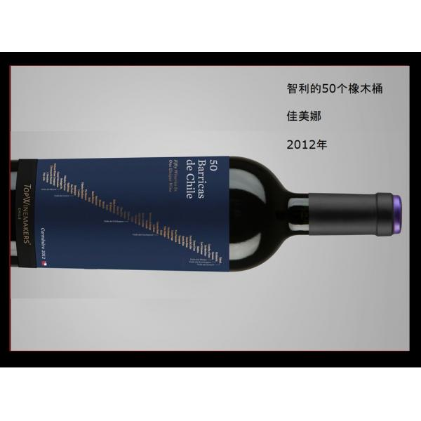智利国酒TopWinemakers 50 Barricas